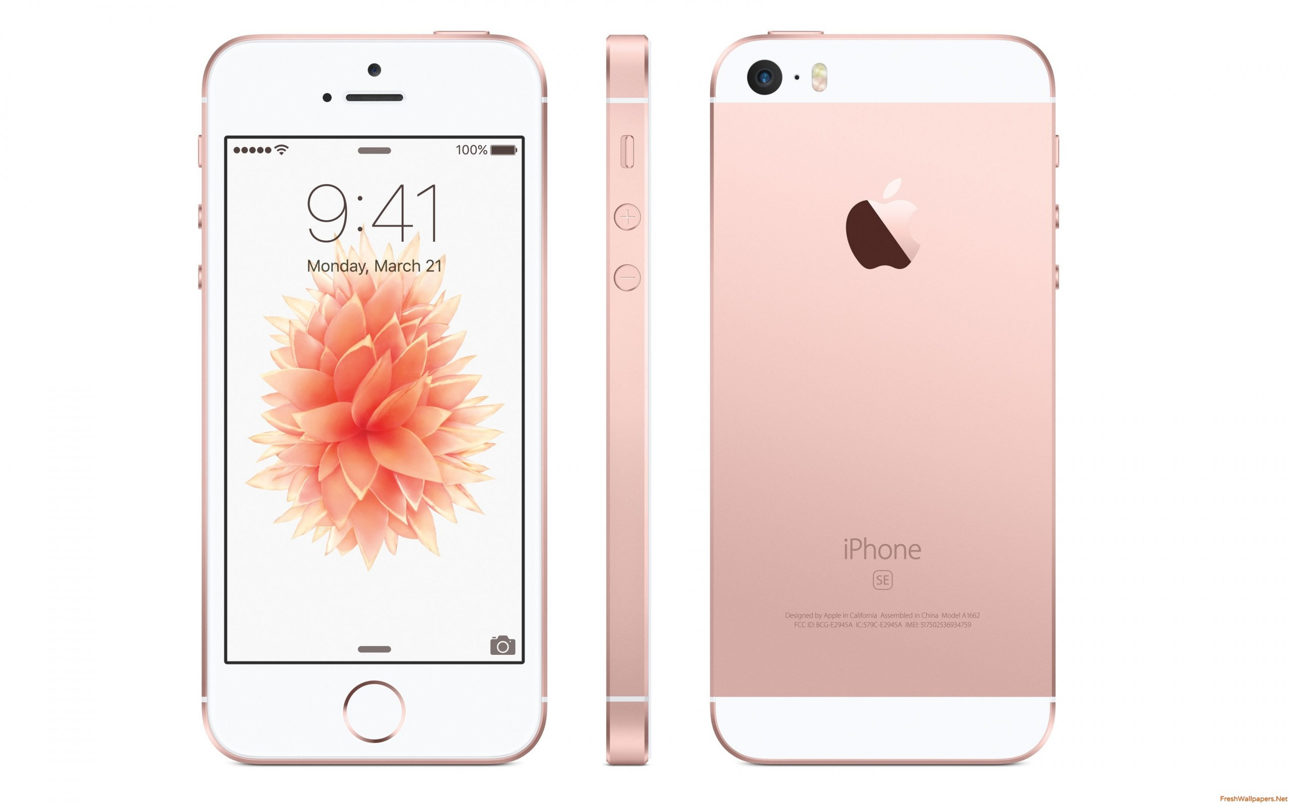 Apple Iphone Se 32go Or Rose Debloque Reconditionne Comme